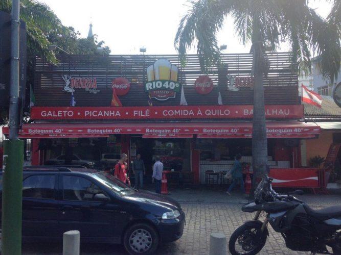 Letreiro de Fachada - Botequim Rio 40º