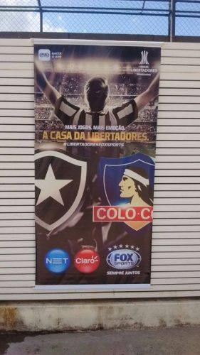 Banner - Botafogo x Colocolo 1