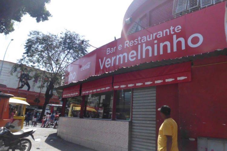 Letreiro de Fachada - Bar e Restaurante Vermelhinho