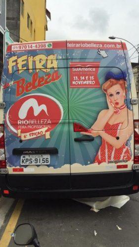 Envelopamento - Van - Rio Belleza 8