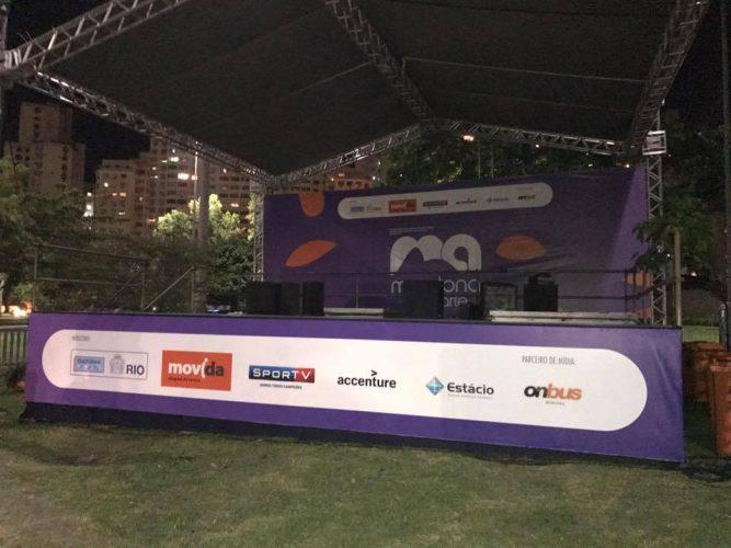 Cenário - Maratona com Arte na Rio 2017 - 2