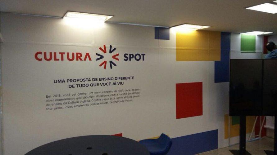 Papel de parede personalizado - Cultura Inglesa 2