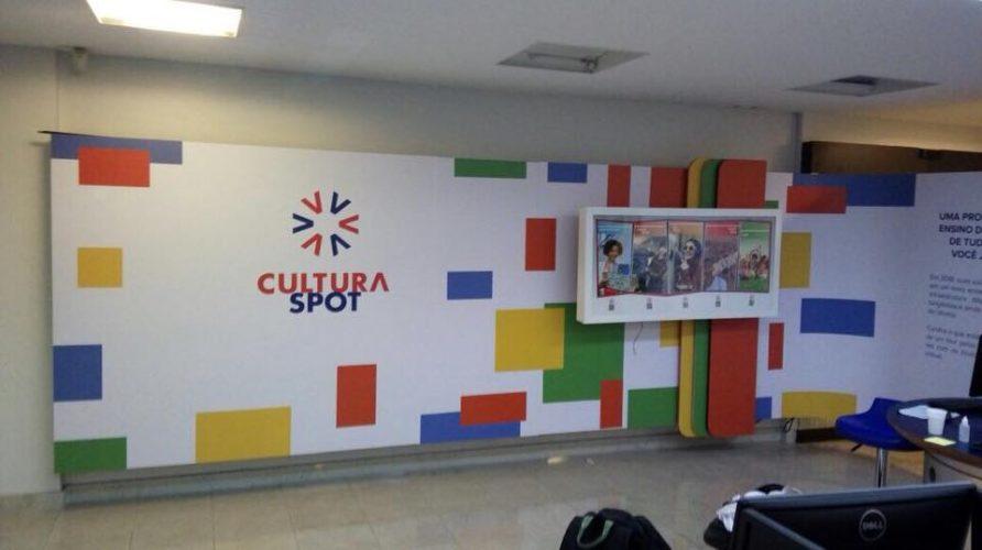 Papel de parede personalizado - Cultura Inglesa 4