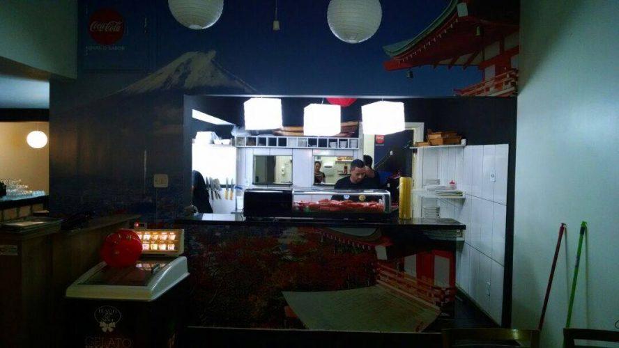 Personalização de Ambiente - Restaurante Sumô Franca 1