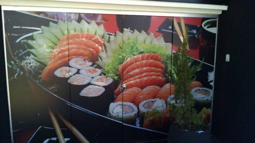 Personalização de Ambiente - Restaurante Sumô Franca 4